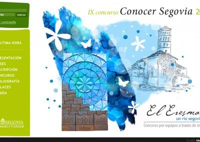 Concurso Conocer Segovia
